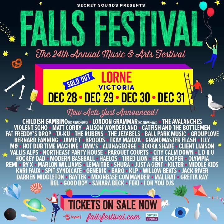Kilter @ Falls Festival - Lorne, Australia