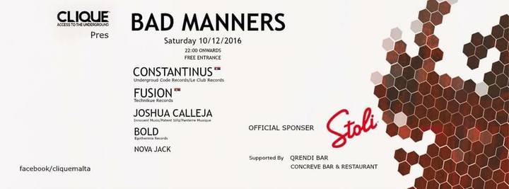 Constantinus @ Clique - Saint Julian's, Malta