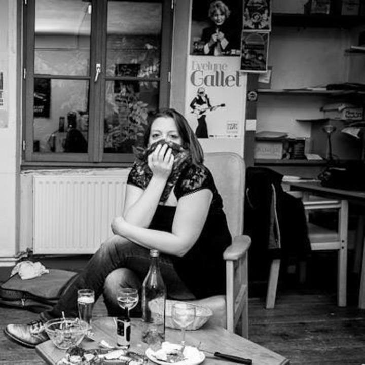 EVELYNE GALLET @ Art Café - Manzat, France