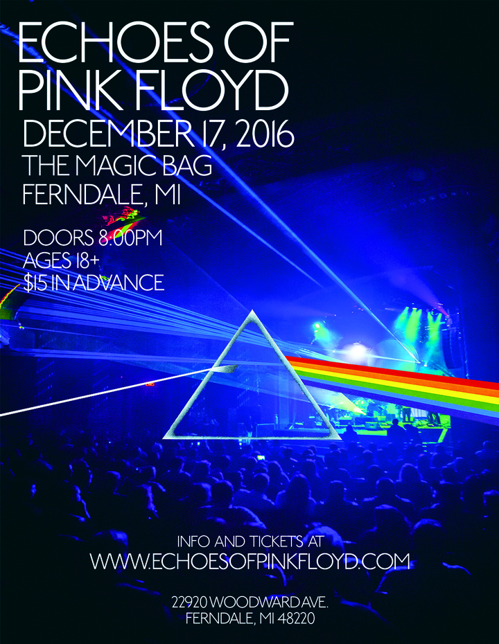 Echoes of Pink Floyd @ Magic Bag - Ferndale, MI