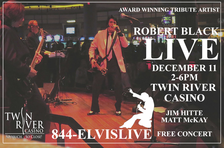 Robert Black Entertainment @ Twin River Casino - Lincoln, RI