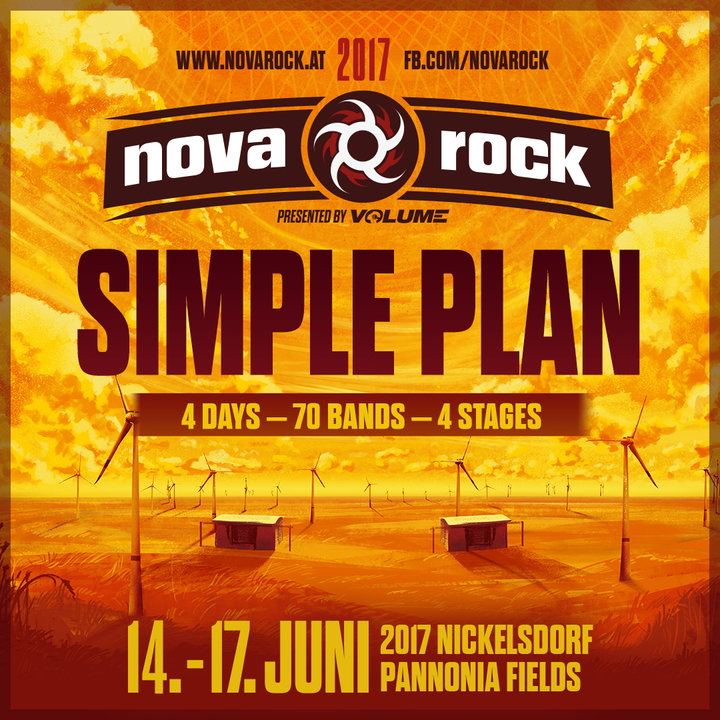 Simple Plan @ Nickelsdorf Pannonia Fields - Nickelsdorf, Austria
