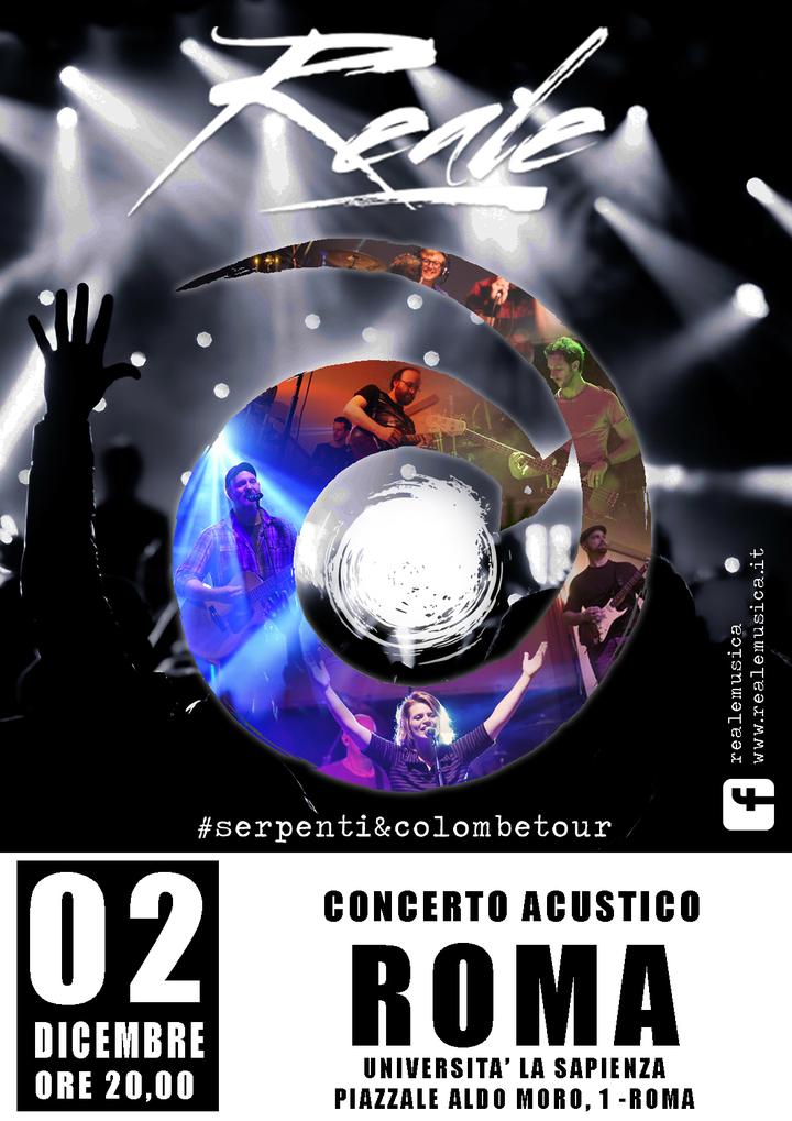 ReAle @ Concerto Acustico - Rome, Italy