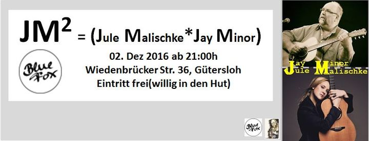 Jay Minor @ Blue Fox - Gütersloh, Germany