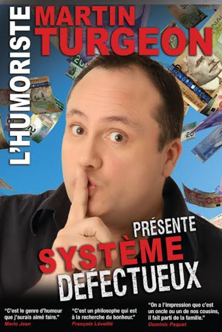 Martin Turgeon humoriste @ Salle Dottori - Témiscaming, Canada