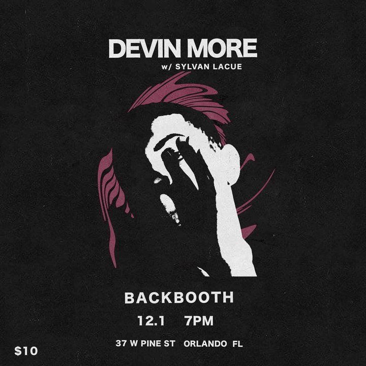 Devin More @ Backbooth - Orlando, FL