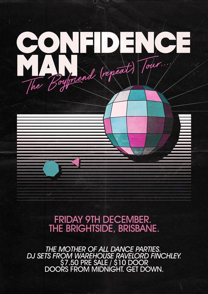Confidence Man @ The Brightside - Brisbane, Australia