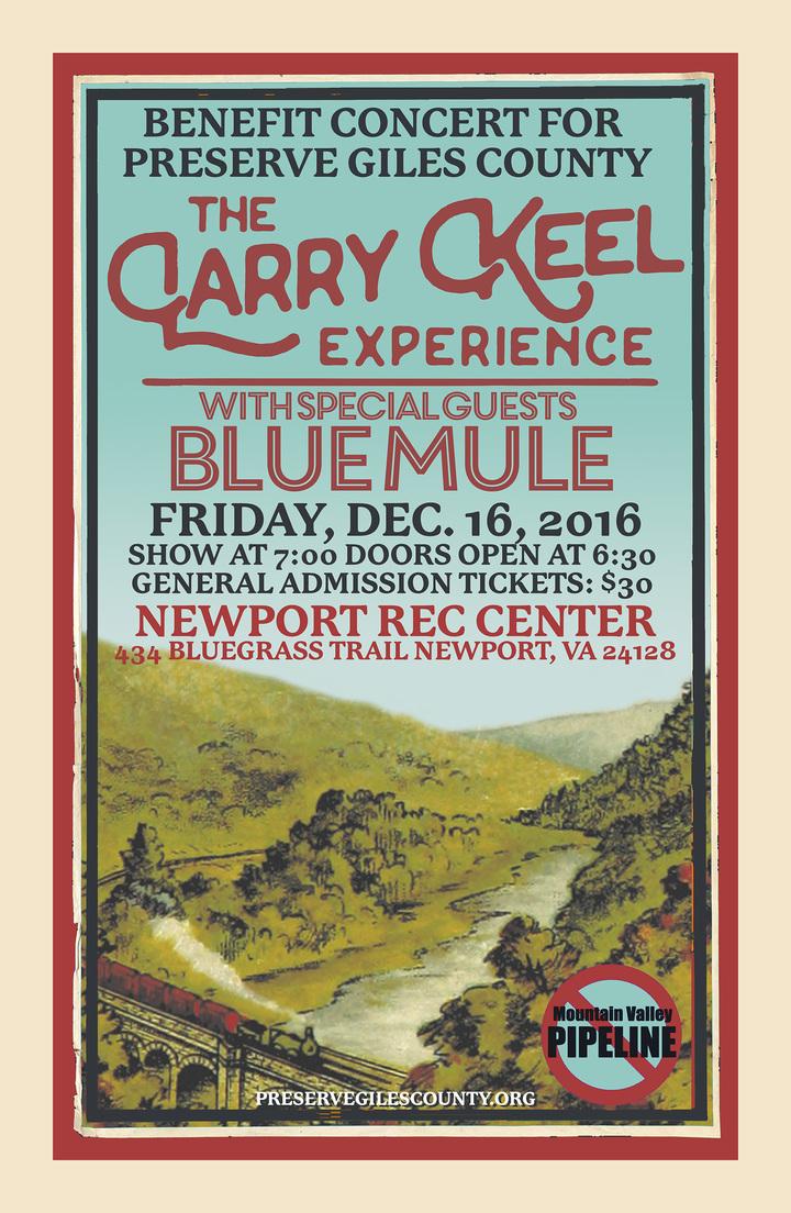 Larry Keel @ Newport Recreation Center - Newport, VA