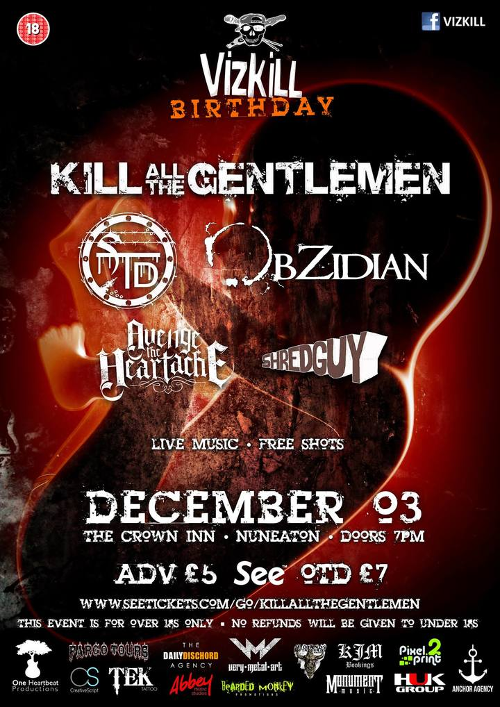 Obzidian @ The Crown - Nuneaton, United Kingdom