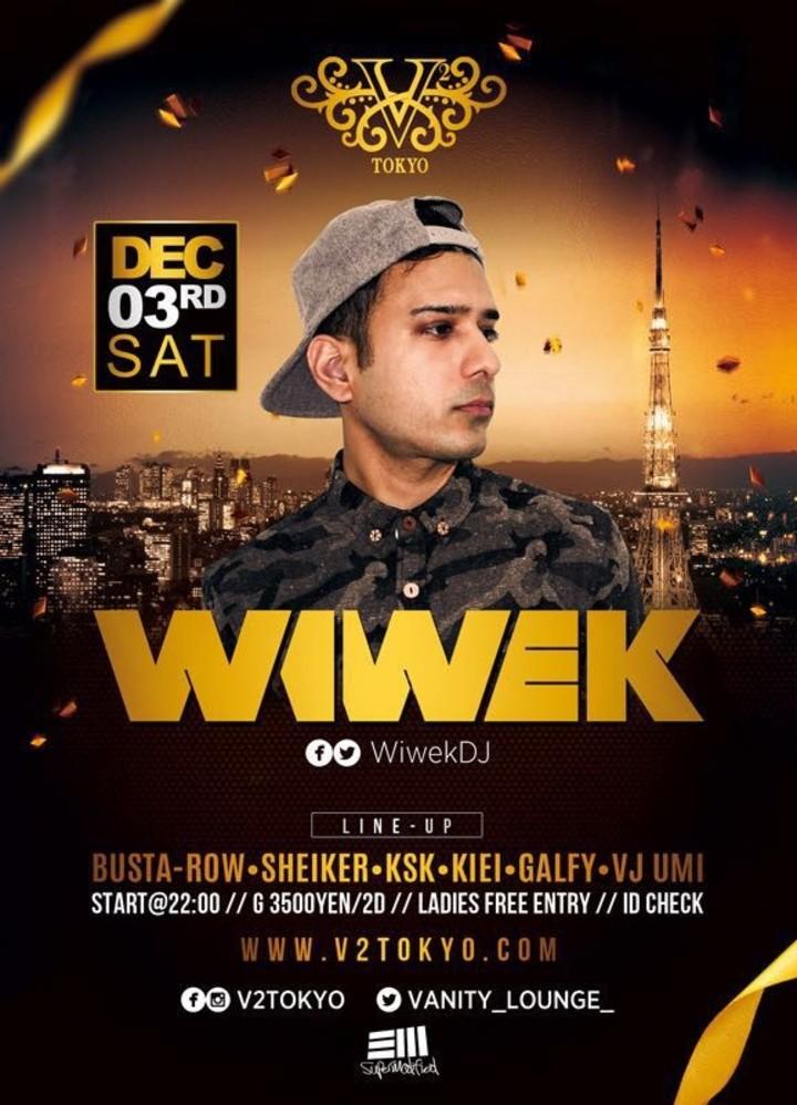 Wiwek @ V2 - Tokyo, Japan