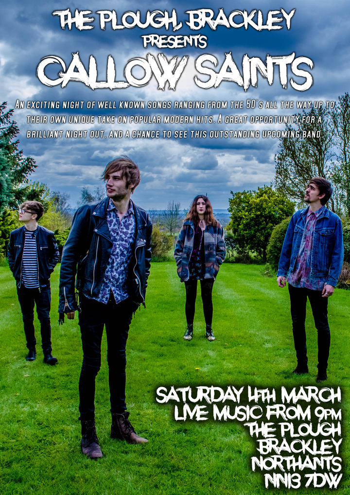 Callow Saints @ The Plough - Brackley, United Kingdom