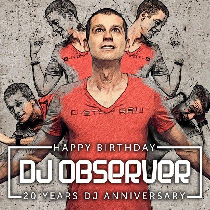 DJ Observer Tour Dates