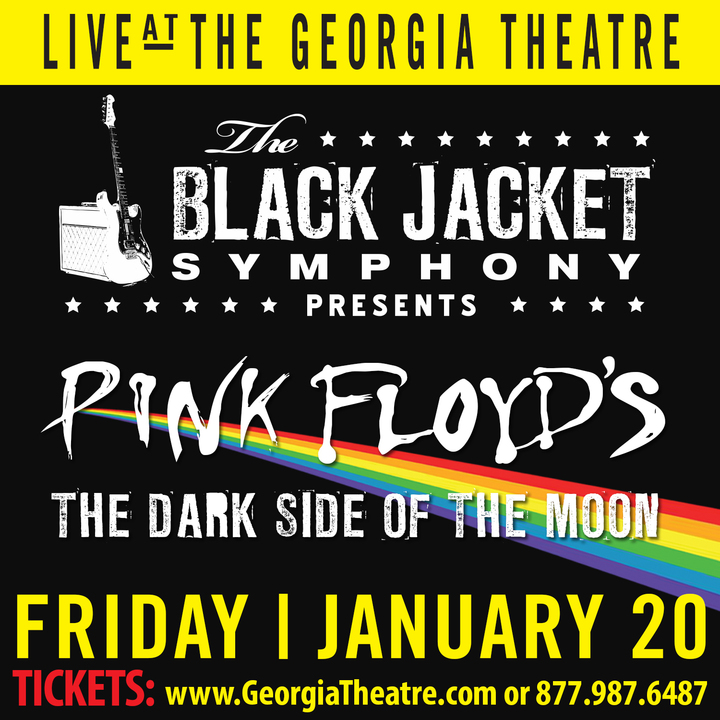 "The Black Jacket Symphony @ Georgia Theatre - Performing Pink Floyd's ""The Dark Side of the Moon"" - Athens, GA"