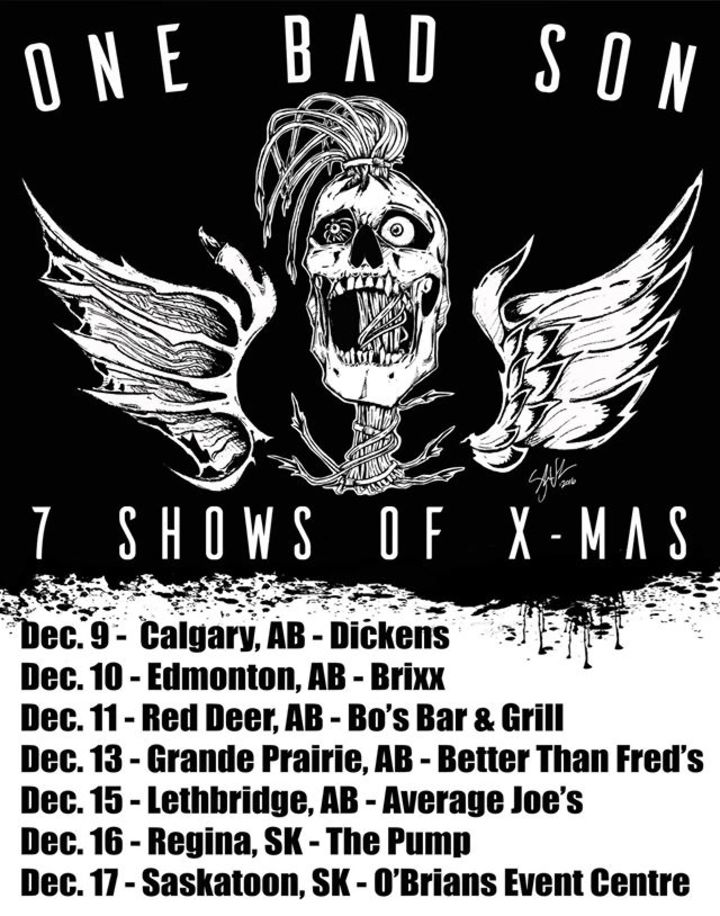 One Bad Son @ Bo's Bar & Grill - Red Deer, AB