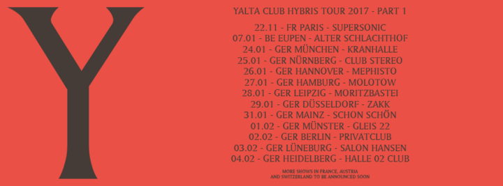 Yalta Club Music @ Halle Club 02 - Heidelberg, Germany