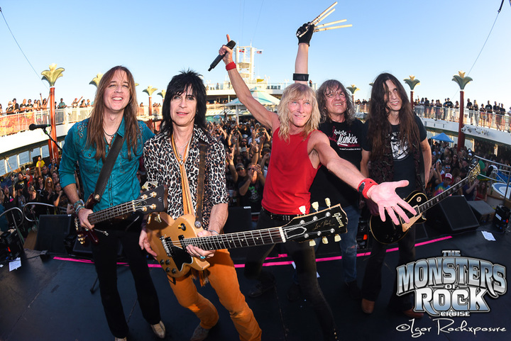Kix Band @ Monsters of Rock Cruise - Tampa, FL