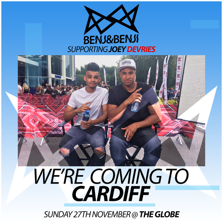 Benj&Benji @ The Globe - Cardiff, United Kingdom