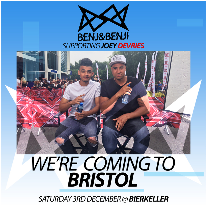 Benj&Benji @ Bierkeller - Bristol, United Kingdom