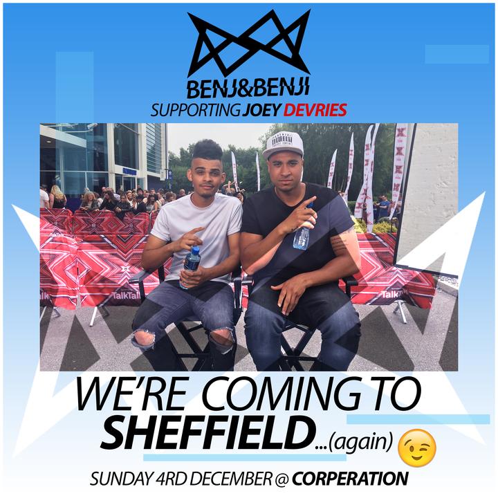Benj&Benji @ Corporation - Sheffield, United Kingdom