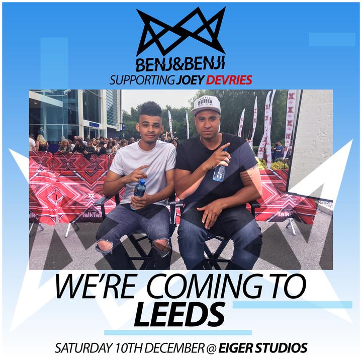 Benj&Benji @ Eiger Studios - Leeds, United Kingdom