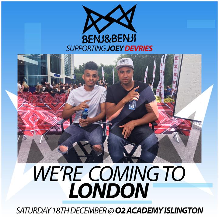 Benj&Benji @ O2 Academy Islington - London, United Kingdom