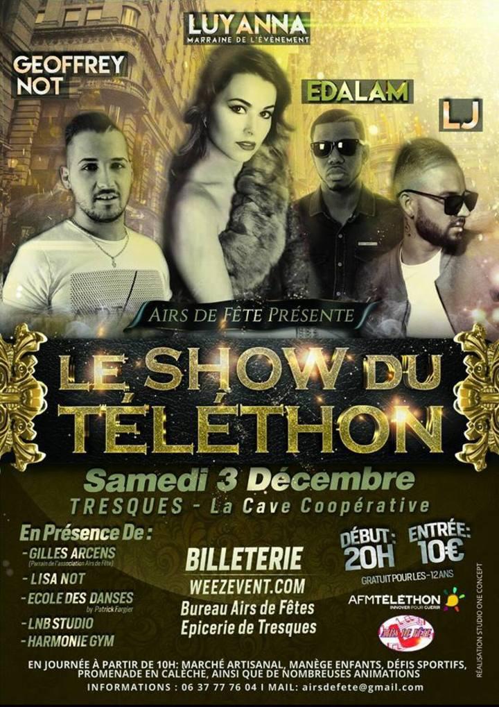 Luyanna @ Le Show du Téléthon - Tresques, France