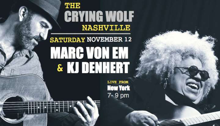 KJ Denhert @ The Crying Wolf - Nashville, TN