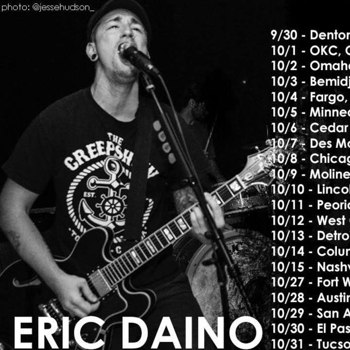 Eric Daino Tour Dates