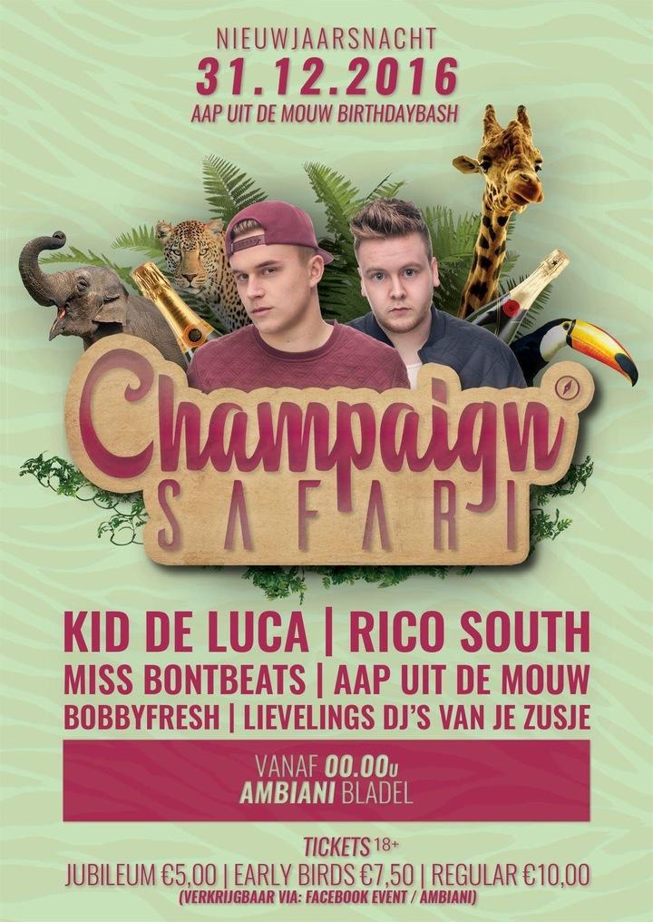 BobbyFresh @ Champaign Safari NYE  - Bladel, Netherlands