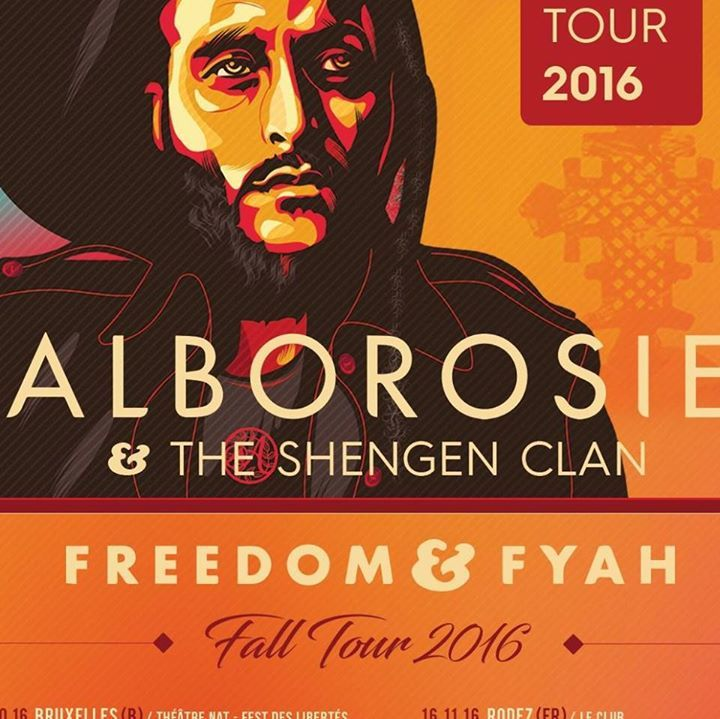 Alborosie Tour Dates