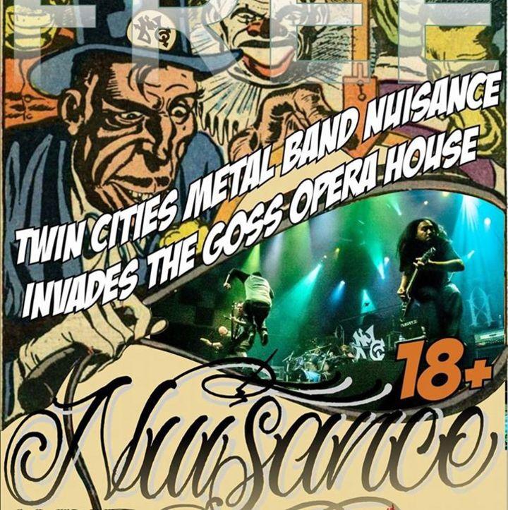 Nuisance Tour Dates