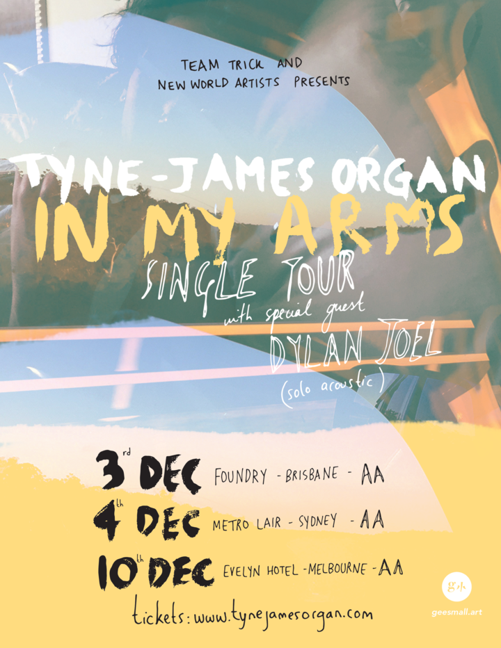 Tyne-James Organ @ The Foundry - Fortitude Valley, Australia