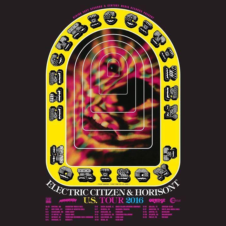 Electric Citizen Tour Dates