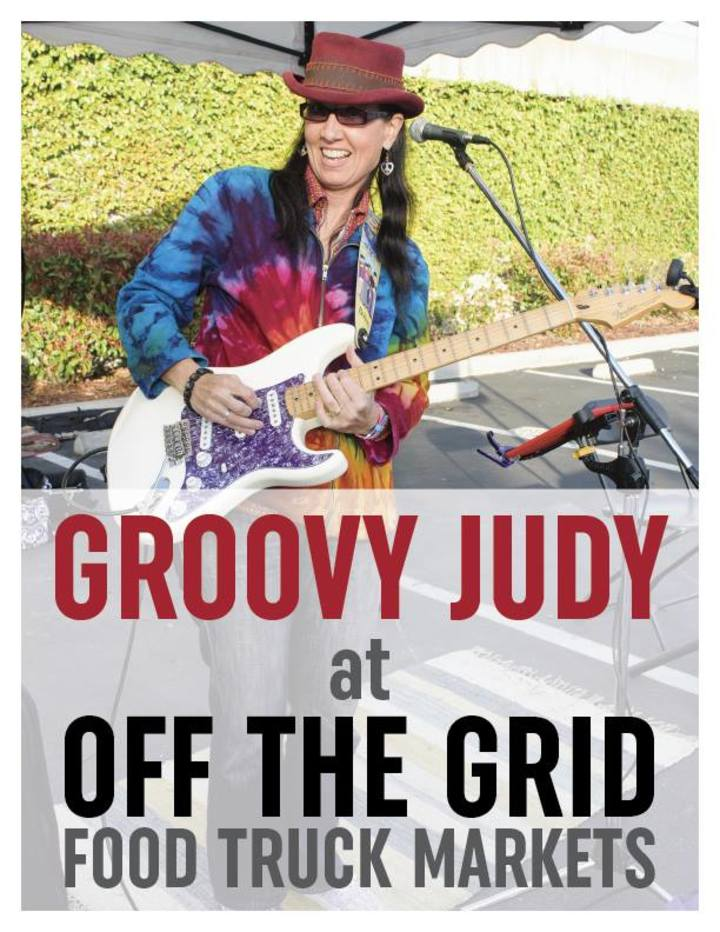 Groovy Judy @ Off The Grid Belmont - Belmont, CA