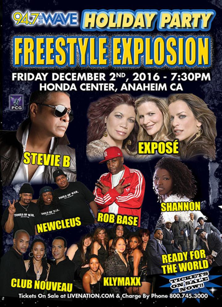 Expose @ Honda Center - Anaheim, CA