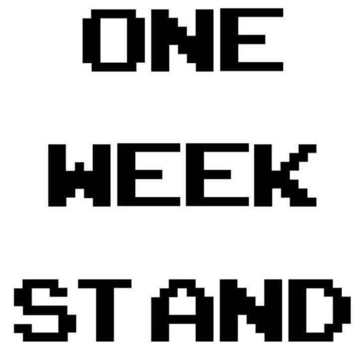 One Week Stand Tour Dates