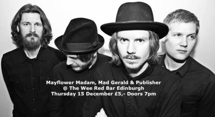 Publisher - Band @ The Wee Red Bar - Edinburgh, United Kingdom