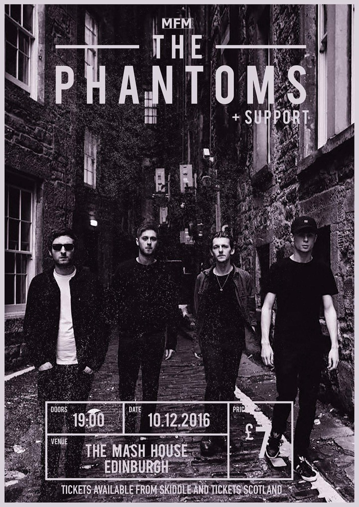 The Phantoms @ The Mash House - Edinburgh, United Kingdom
