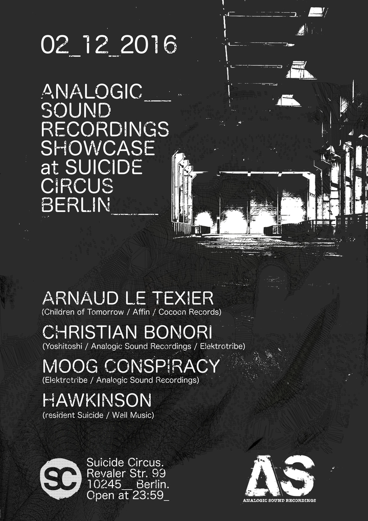 Moog Conspiracy @ Analogic Sound Showcase @ Suicide Circus - Berlin, Germany