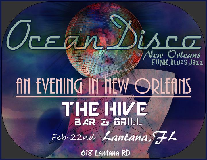 Ocean Disco @ The Hive Bar & Grill - Lantana, FL