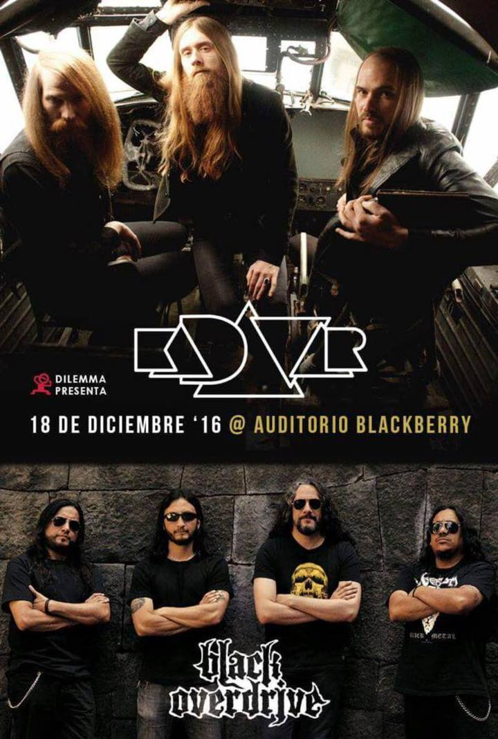 Black Overdrive @ Auditorio BlackBerry - México, Mexico