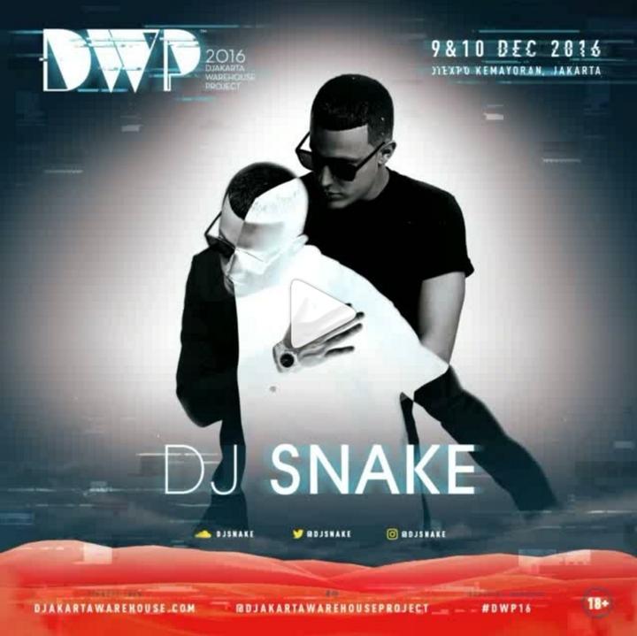 DJ Snake @ Jiexpo Kemayoran - Jakarta, Indonesia