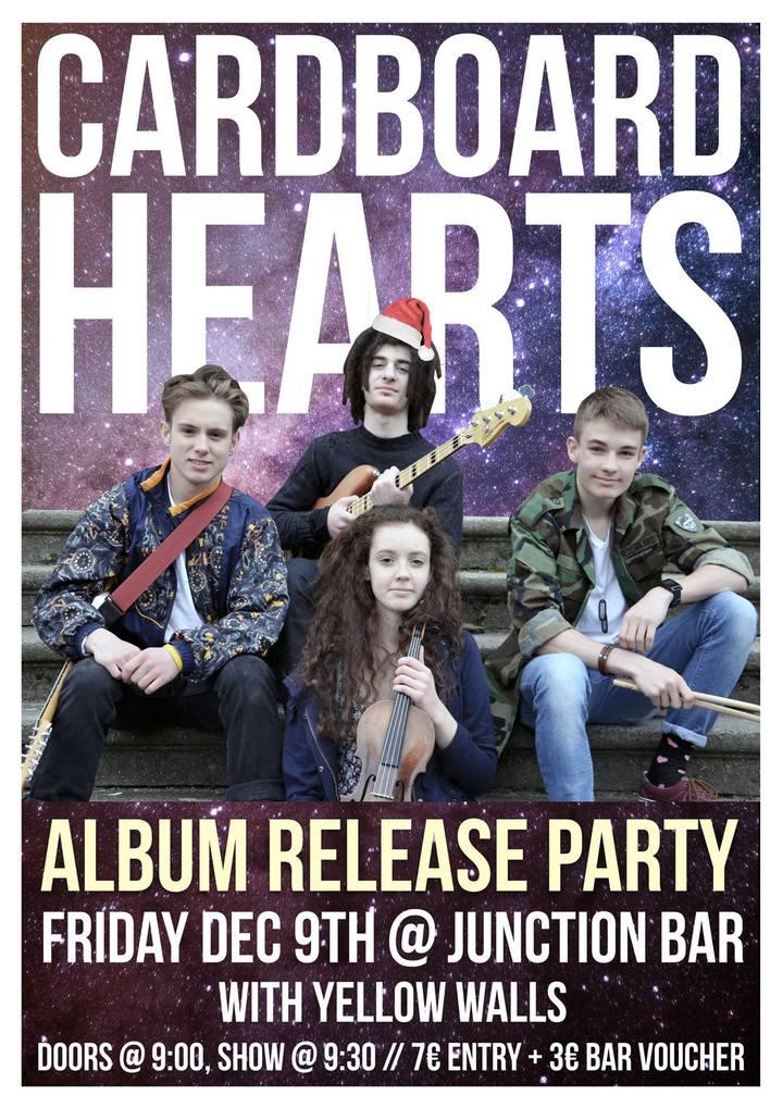 Cardboard Hearts @ Junction Bar - Berlin, Germany