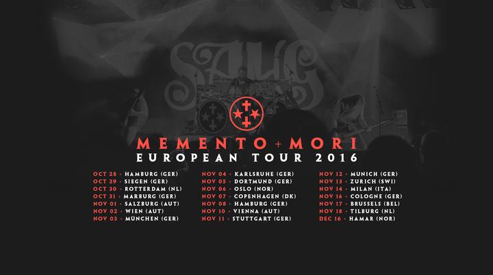 Sahg Tour Dates
