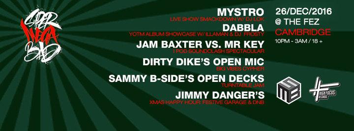 Mystro @ Fez Club - Cambridge, United Kingdom