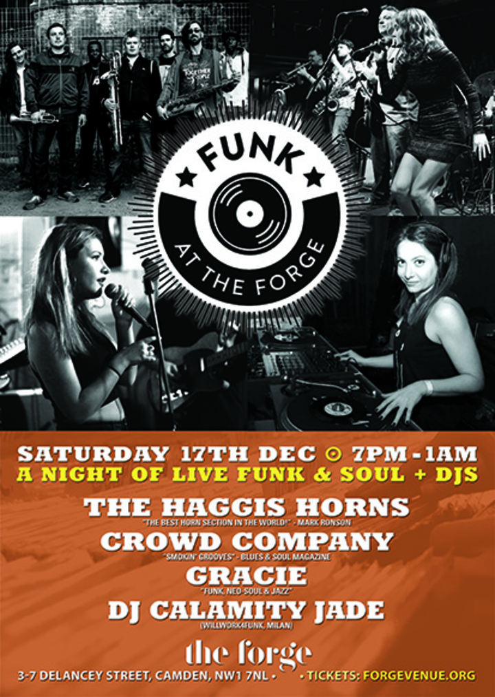 The Haggis Horns @ The Forge - London, United Kingdom