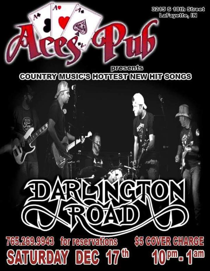 Darlington Road @ Ace's Pub  - Lafayette, IN
