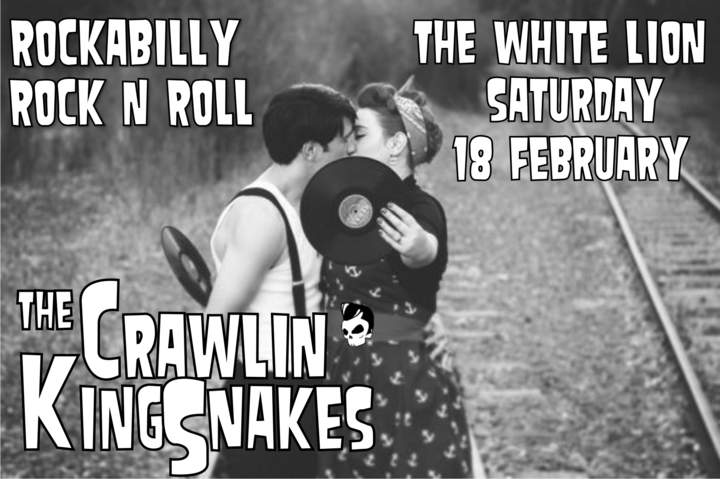 The Crawlin' Kingsnakes @ The White Lion - Bristol, United Kingdom