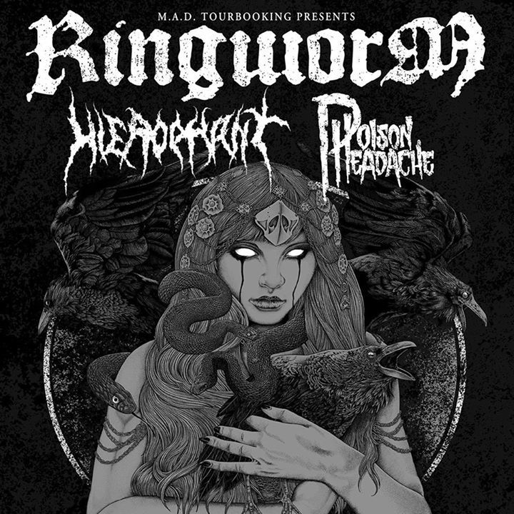 Ringworm Tour Dates