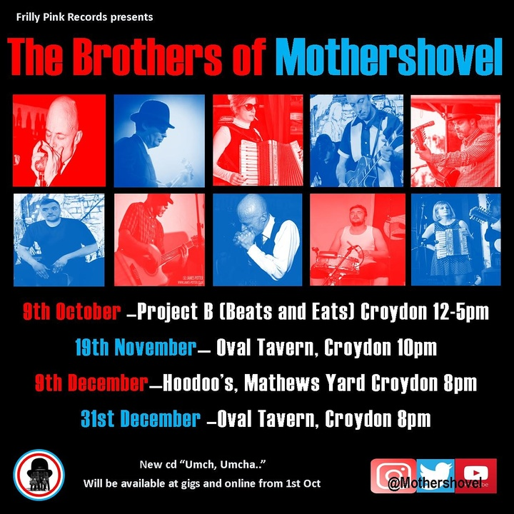 Brothers Of Mothershovel @ Hoodoos, Mathews Yard - Croydon, United Kingdom